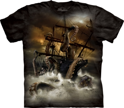 f4e4b244e50 Tričko Mountain - tričko s celopotiskem