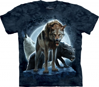 Tričko Bad Moon Wolves, 2XL