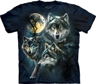 Tričko Moon Wolves