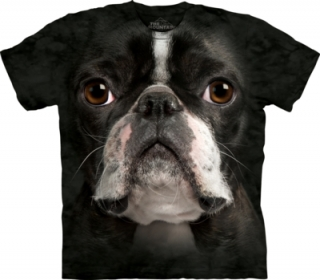 Tričko Boston Terrier Face