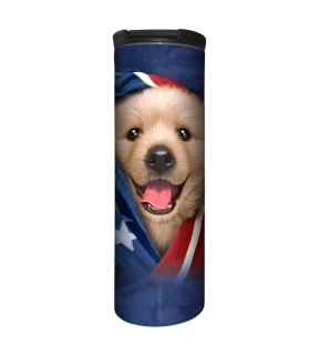 Mountain termohrnek Patriotic Golden Pup