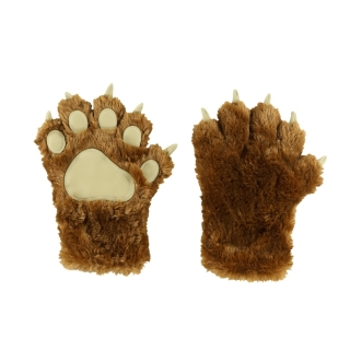 Lazy One zimní rukavice Brown Bear Paw Mitts