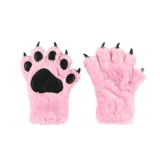 Lazy One zimní rukavice Pink Paw Mitts
