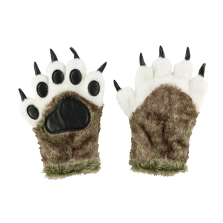 Lazy One zimní rukavice Wolf Paw Mitts
